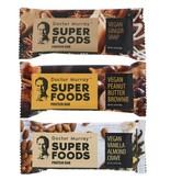 Dr. Murray's Superfoods Protein Bars,  Vegan Protein Combo Pack, 12 Bars, 2.05 Oz (58 g) Each