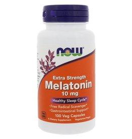 Now Foods Extra Strength Melatonin, 10 Mg, 100 Veg Capsules