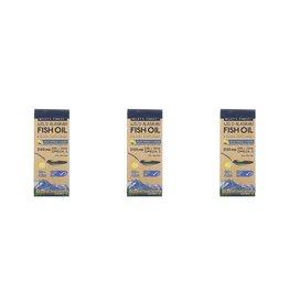 Wiley's Finest Wild Alaskan Fish Oil, Peak Omega-3 Liquid, Natural Lemon Flavor, 2,150 Mg, 4.23 Fl Oz (125 ml), 3-pack