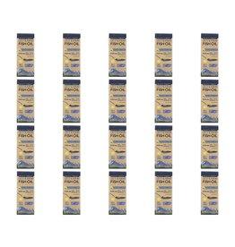 Wiley's Finest Wild Alaskan Fish Oil, Peak Omega-3 Liquid, Natural Lemon Flavor, 2,150 Mg, 4.23 Fl Oz (125 ml), 20-pack