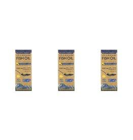 Wiley's Finest Wild Alaskan Fish Oil, Peak Omega-3 Liquid, Natural Lemon Flavor, 2,150 Mg, 8.45 Fl Oz (250 ml), 3-pack