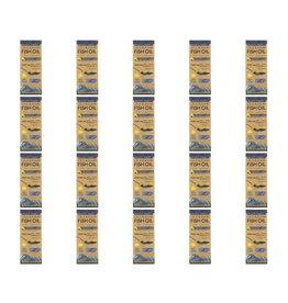 Wiley's Finest Wild Alaskan Fish Oil, Peak Omega-3 Liquid, Natural Lemon Flavor, 2,150 Mg, 8.45 Fl Oz (250 ml), 20-pack