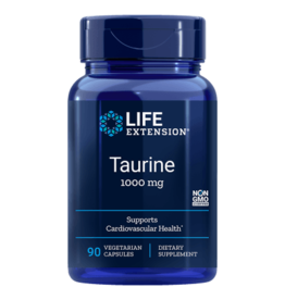 Life Extension Taurine, 1000 mg, 90 Vegetarian Capsules