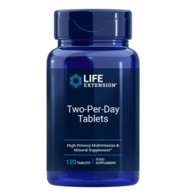 Life Extension Two-Per-Day Tablets, 120 Tablets