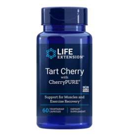 Life Extension Tart Cherry With Cherrypure, 60 Vegetarian Capsules