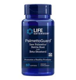 Life Extension PalmettoGuard® Saw Palmetto/Nettle Root Formula with Beta-Sitosterol, 60 Softgels