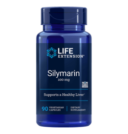 Life Extension Silymarin 100 mg, 90 Vegetarian Capsules