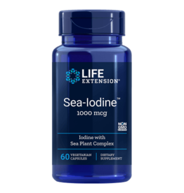 Life Extension Sea-Iodine, 1000 mg, 60 Vegetarian Capsules
