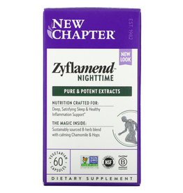 New Chapter Zyflamend Nighttime- 60 Vegetarian Capsules