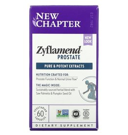 New Chapter Zyflamend Prostate- 60 Vegetarian Capsules