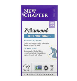 New Chapter Zyflamend, Pure and Potent Extracts, 120 Vegetarian Capsules