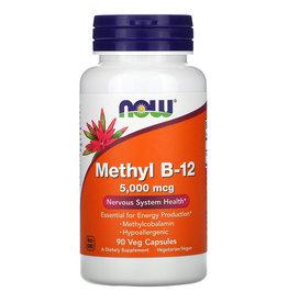 Now Foods Methyl B-12, 5,000 mcg, 90 Veg Capsules