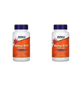 Now Foods Methyl B-12, 5,000 mcg, 90 Veg Capsules, 2-pack