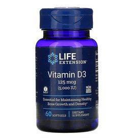 Life Extension Vitamin D3 5,000 IU, 60 Softgels