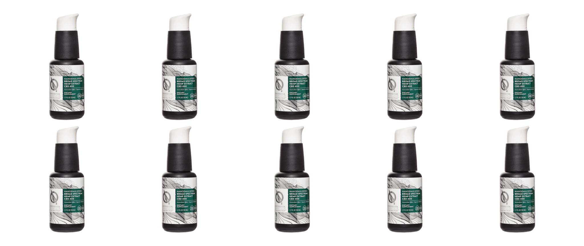 Quicksilver Scientific Broad Spectrum Hemp Extract, 50 ml, 10-pack
