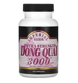 Imperial Elixir Extra Strength, Dong Quai, 3000 Mg, 120 Capsules