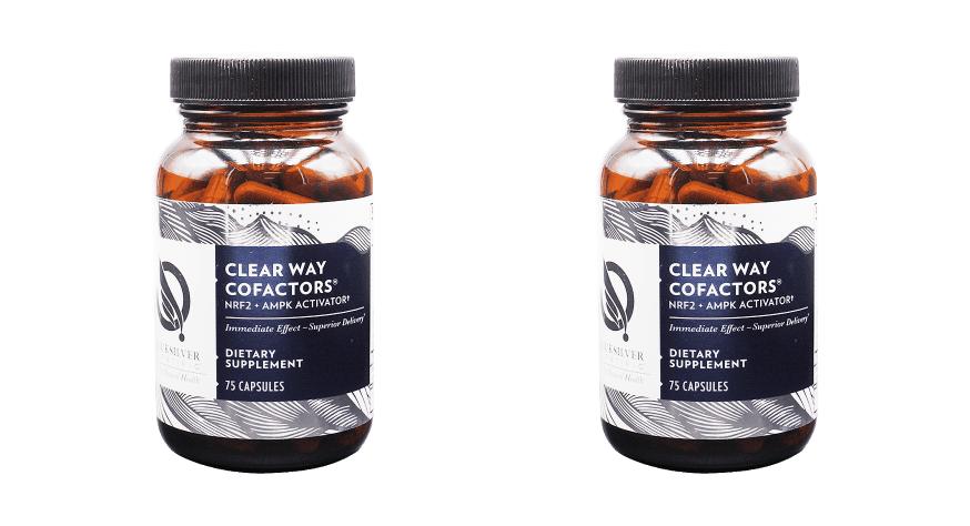 Quicksilver Scientific Clear Way Cofactors®, 75 Capsules, 2-packs