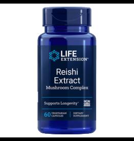 Life Extension Reishi Extract Mushroom Complex, 60 Vegetarian Capsules