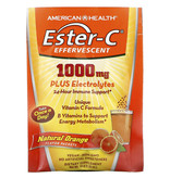 American Health Ester-C Effervescent, Natural Orange Flavor, 1,000 mg, 21 Packets, 0.35 Oz (10 g) Each