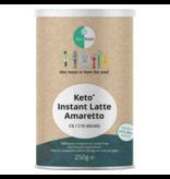 Life Extension Go-Keto, Instant Keto MCT Coffee Latte Amaretto C8/C10 (60/40),  250 g.