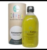 Life Extension Go-Keto Ketosene® Green Power MCT Oil C8/C10 (60/40) With Omega-7, Avocado And Macadamia Oil, 500 ml