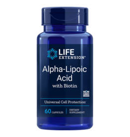 Life Extension Alpha-Lipoic Acid with Biotin, 60 Capsules