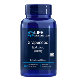 Life Extension Grapeseed Extract, 100 mg, 60 Vegetarian Capsules