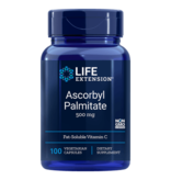 Life Extension Ascorbyl Palmitate, 500 mg 100 Vegetarian Capsules
