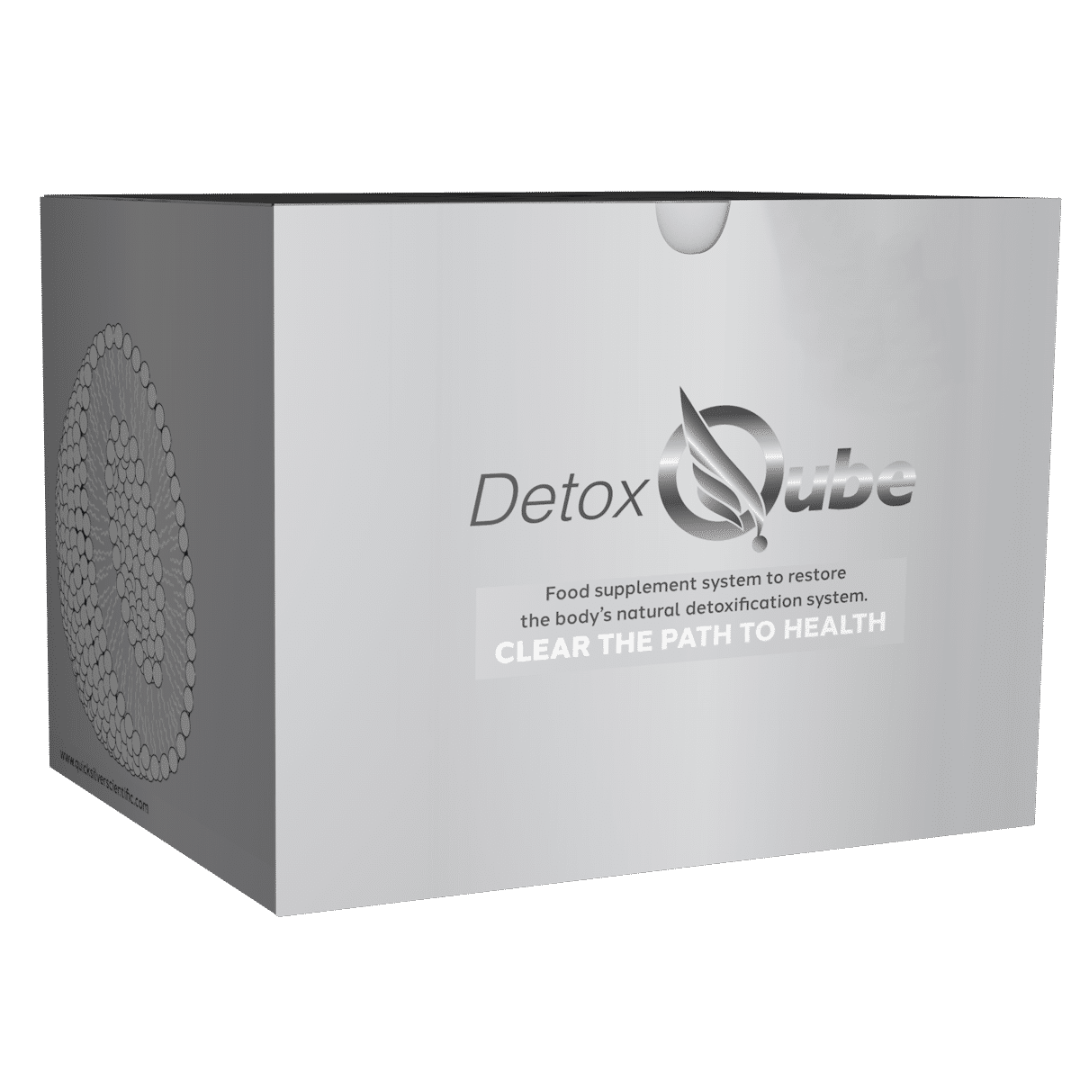Quicksilver Scientific Detox Qube®, Heavy Metal Detoxification Kit