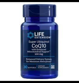 Life Extension Super Ubiquinol CoQ10 With Enhanced Mitochondrial Support™, 100 mg, 30 Softgels