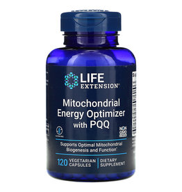 Life Extension Mitochondrial Energy Optimizer with PQQ, 120 capsules, 3-pack