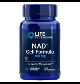 Life Extension NAD+ Cell Formula, 100 mg EU, 30 Vegetarian Capsules