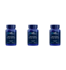 Life Extension Mitochondrial Energy Optimizer with PQQ, EU, 120 Capsules, 3-packs