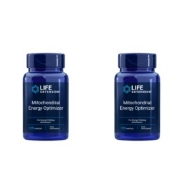 Life Extension Mitochondrial Energy Optimizer with PQQ, EU, 120 Capsules, 2-packs