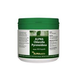 ALPHAaktiv ALPHA-Chlorella Pyrenoidosa, 400 Capsules, 200 g.