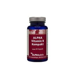 ALPHAaktiv ALPHA Vitamin B Kompakt, 60 Kapseln