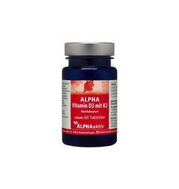 ALPHAaktiv ALPHA Vitamin D3+K2, 60 Tabletten