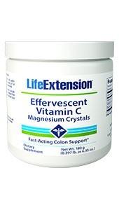 Life Extension Effervescent Vitamin C - Magnesium Crystals
