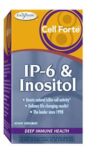 Nature's Way Cell Forté, IP-6 & Inositol, 120 Vegan Capsules