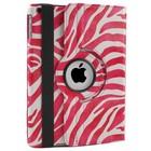 iPad Air Hoes 360° Zebra Roze