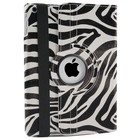 iPad Air Hoes 360° Zebra Zwart