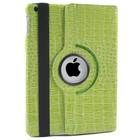 iPad Air Hoes 360° Krokodillenleer Groen