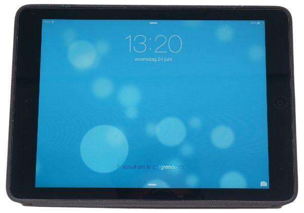 Apple Apple iPad Smart Case Zwart Leer voor de iPad Air.