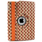 iPad 2,3,4 Hoes 360° Wave Oranje