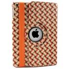 iPad Air Hoes 360° Wave Oranje