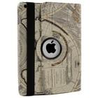 iPad 2,3,4 Hoes 360° Landkaart Wit