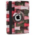 iPad 2,3,4 Hoes 360° Patch Roze