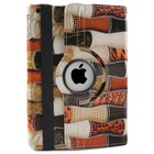 iPad Air Hoes 360° Patch Rood