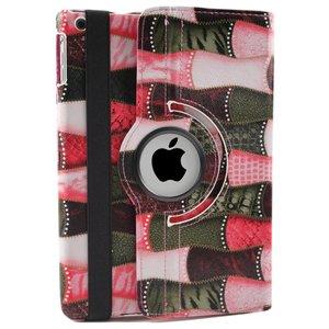 iPad Hoes 360° Draaibaar Patch Roze Voor de iPad Air 2