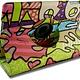 iPad pro 9.7 Hoes 360° Draaibaar Lovely Fish Roze. Voor de iPad pro 9.7.